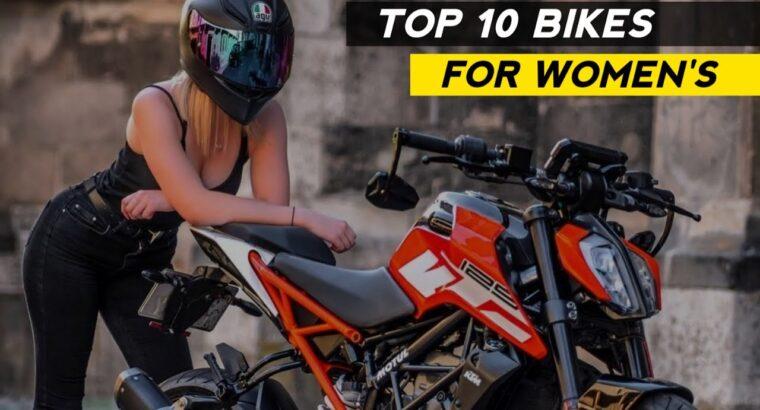 High 10 Finest Bikes For Ladies's in India   Rishav Arya