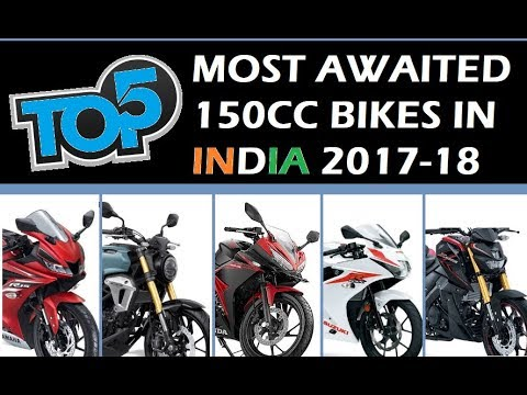 Prime 5 Most Awaited 150cc Bikes in India 2017-2018