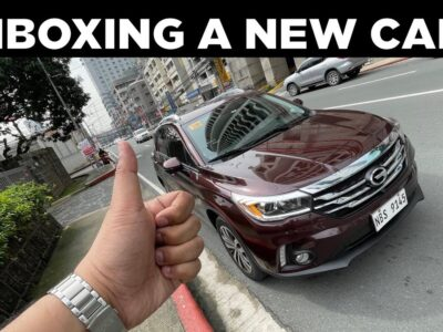 UNBOXING A NEW CAR! (Check Drive GAC GS4 2020)