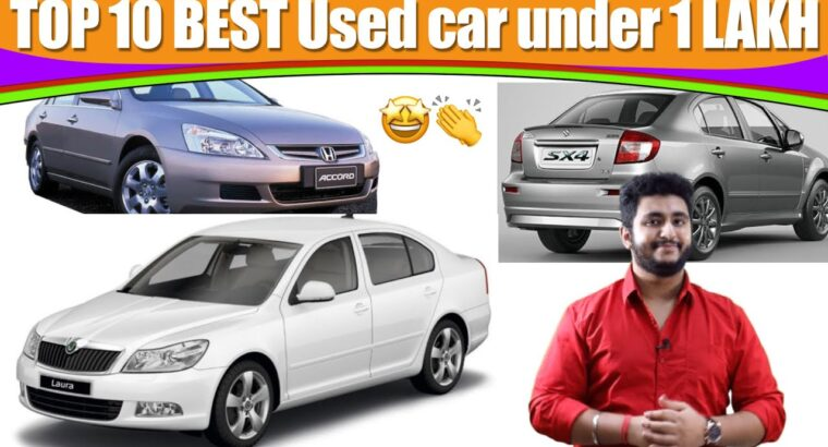 Used vehicles on the market underneath 1 Lakh in India | Group Automobile Delight