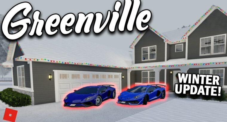 WINTER UPDATE!! (15 NEW CARS!!) || ROBLOX – Greenville