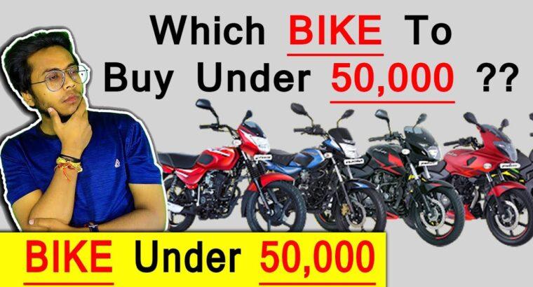 Which BIKE To Purchase UNDER 50,000 | BIKES Underneath 50,000 | Greatest Mileage Bike In 50,000 Hindi Rider Maurya