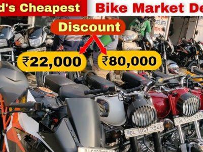 धमाकेदार Sale On Used Bike   सबसे सस्ता  Second Hand Bike मार्केट दिल्ली  KTM,Bullet,Scooty, Apache