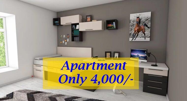 2 Bed room Condominium for Hire in Dubai solely 4,000/- II Dubai Property