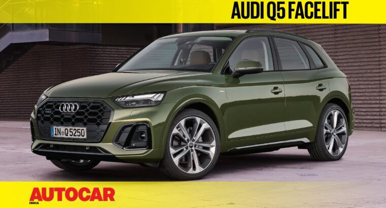 2020 Audi Q5 Facelift – What's New?   First Look   Autocar India