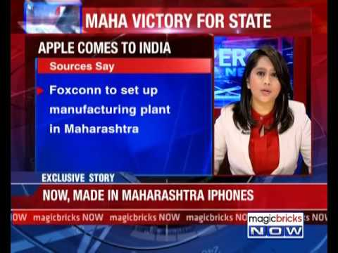 'Made in India' iphones: Foxconn inks with Maharashtra for Apple – The Property Information