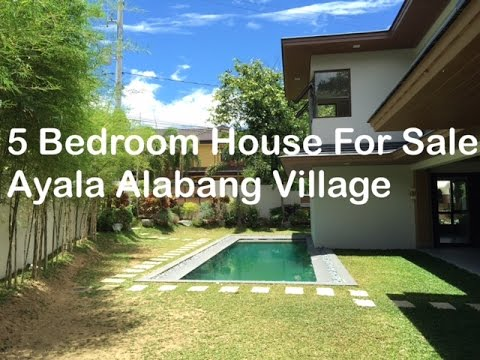 5 Bed room Home for Sale P105 Million Ayala Alabang Village Muntinlupa by Manila Luxurious Actual Property