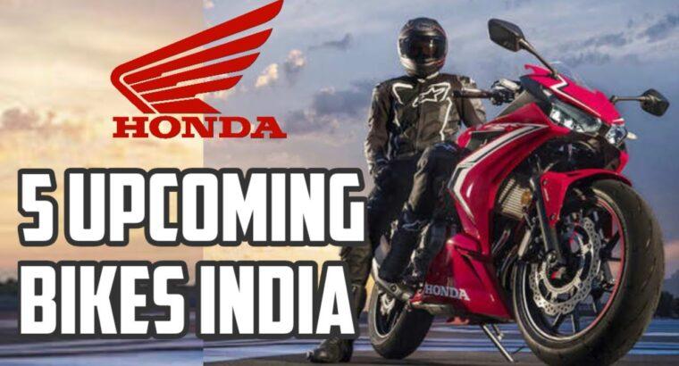 5 Upcoming Honda Bikes Launch in India in 2020