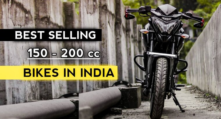 Finest Promoting 150 – 200 cc Bikes in India | Bajaj to KTM's | Rishav Arya