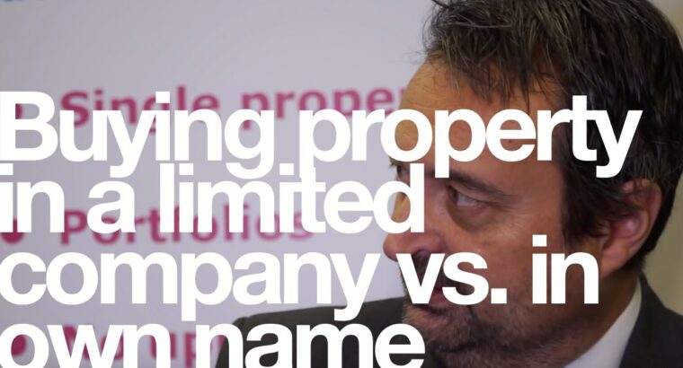 Shopping for property in a restricted firm vs. in personal title