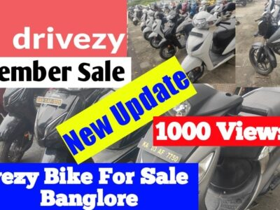 Drivezy Bike on the market in Bangalore   December Sale   New Replace   H-44 Motovlogs