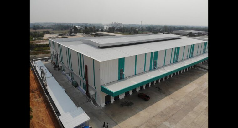 En Con's & Constructed  / Challenge : New Warehouse Frasers Property Industrial Co .,Ltd. / Khon Kaen