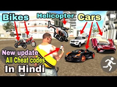 Indian Bike Driving 3D New Replace 2021/Automobiles!Bikes!Helicopter!All Cheat Codes in Hindi!shiva gaming