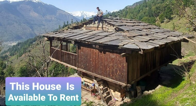 My Outdated Property In Naggar, Himachal, Obtainable For Work From Mountains