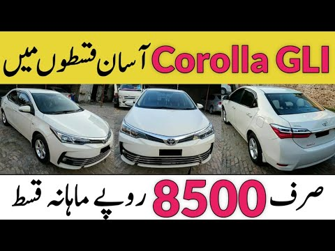 New Corolla GLI For Sale On Installment – Used Vehicles For Sale – Olx Pakistan – Sunday Bazar Vehicles