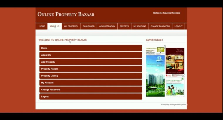 PHP and MySQL Venture on On-line Property Bazaar