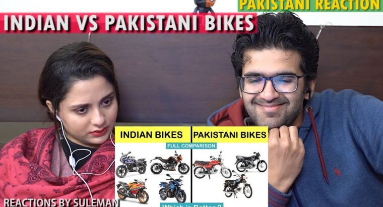 Pakistani Couple Reacts To Indian Vs Pakistani Bikes Comparability | Unbiased |India's High Info | 2020