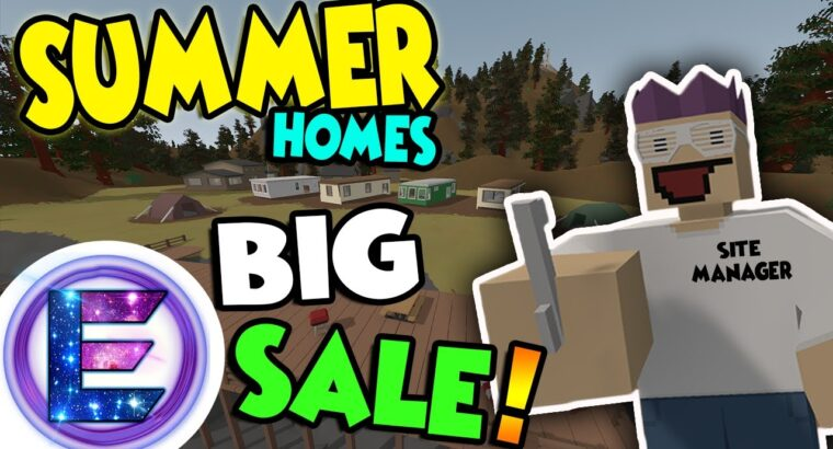 SUMMER HOMES BIG SALE! – Property gross sales man – Website supervisor and it's not a con – Unturned RP