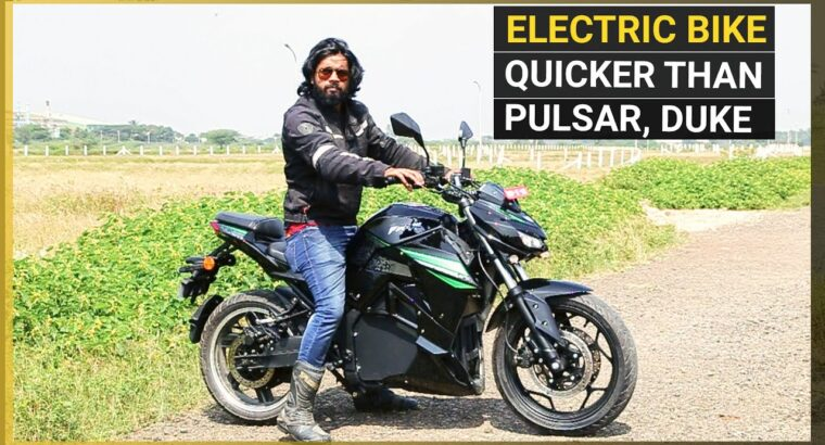 SVM Prana Electrical Bike Evaluate: A 'Silent' Risk to 150-200cc Bikes?