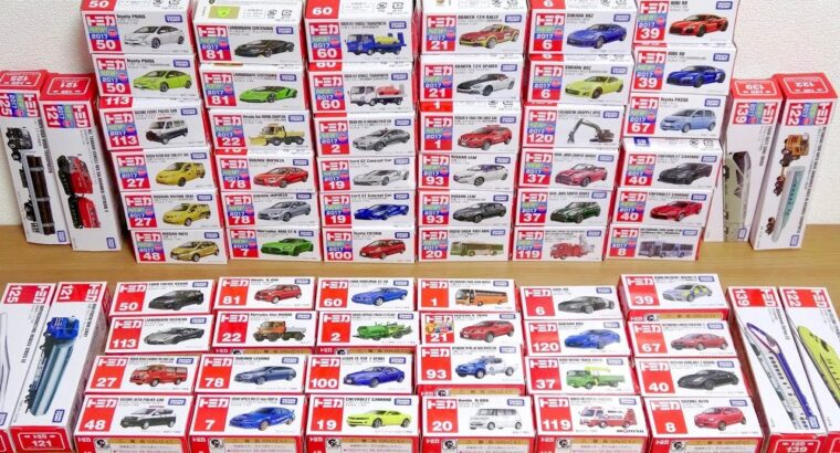 TOMICA 2017 NEW & OLD MINI CARS toy assortment