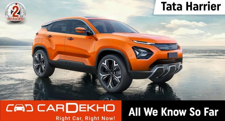Tata Harrier 2019 (Value Begins at 12.69 Lakh): All We Know So Far | #In2Mins | CarDekho.com