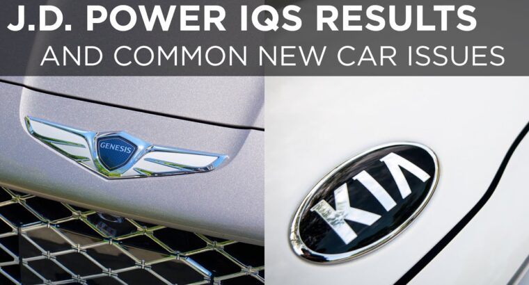 These are the commonest issues in new automobiles | Driving.ca