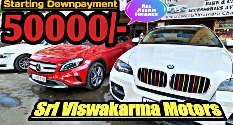 Used Automobiles In Guwahati Assam    Mercedez BMW Innova Brezza Ford Santro by Travellers Nest