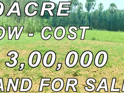 19 ACRE AGRICULTURAL DRY LAND FOR SALE | LOW – INVESTMENT PROPERTY SALE | ACRE ₹ 3,00,000 | PROPERTY