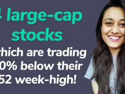 four giant cap shares that are buying and selling 20% under their 52 week-high   Groww