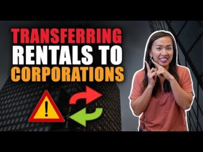 Value of Transferring Your Rental Properties To Company