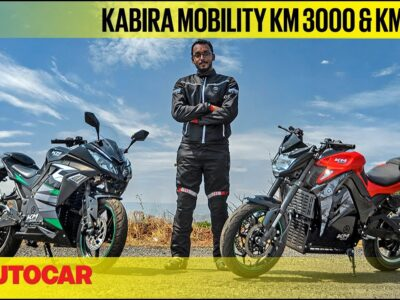 Kabira Mobility KM 3000 & KM 4000 – e-motorcycles you've not heard of | First Experience | Autocar India